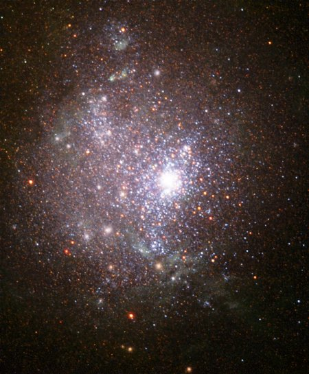 Звезды NGC 1705